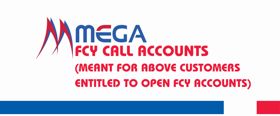 FCY Call Accounts (Meant For Above Customers Entitled To Open FCY Accounts) img